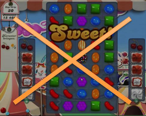 candy crush crossed
